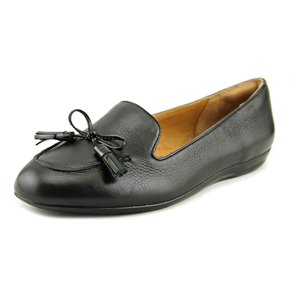 Sofft Novato Women Round Toe Leather Black Loafer by Sofft