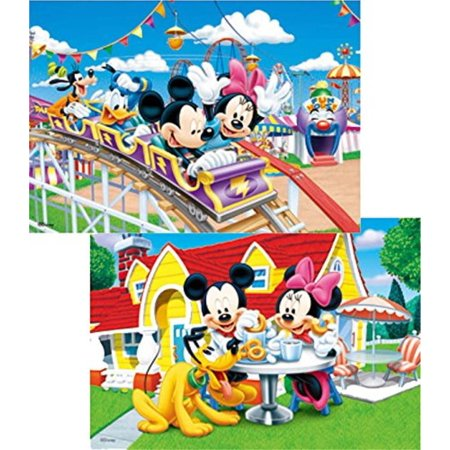 48 Donald Duck - Mickey Mouse, Minnie Mouse, Donald Duck and Goofy TWO - 10x14 3D Lenticular Poster Prints - in 3D ready to Frame or Hang, Your favorite Disney characters - Mickey, Minnie.., By 3Dlenticular