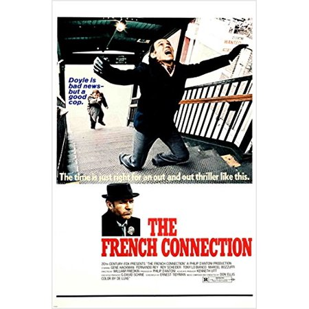 The French Connection Vintage Movie Poster 24X36 5 Academy Awards Police - Police Academy Graduation Gifts