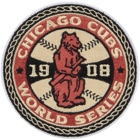 Chicago Cubs 45 X 35 1908 World Series Champions Patch No Size