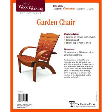 Phenomenal Fine Woodworkings Garden Chair Plan Other Ncnpc Chair Design For Home Ncnpcorg