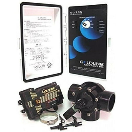 Hayward Pool GLC-2P-A Solar Pool Heating Control System with 3-Way Valve, Actuator and 2 PC Sensors