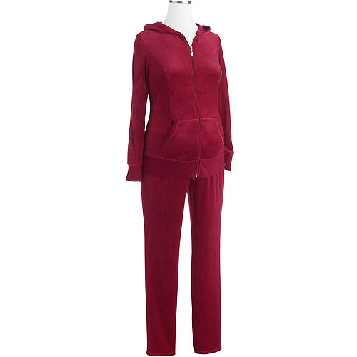 Danskin Now Maternity Velour Hoodie and Pant Set