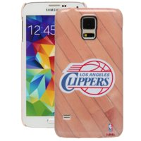 LA Clippers Galaxy S5 Hardwood Court Case - No Size