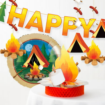 Camping Party Decorations Kit - Camping Decorations