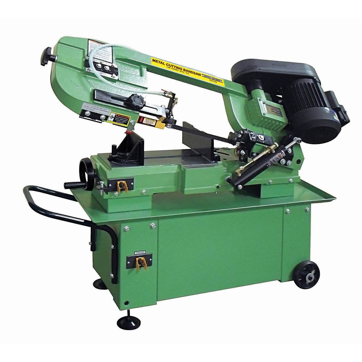 1 HP 7 In. x 12 In. Hydraulic Feed Metal Cutting Band Saw by
