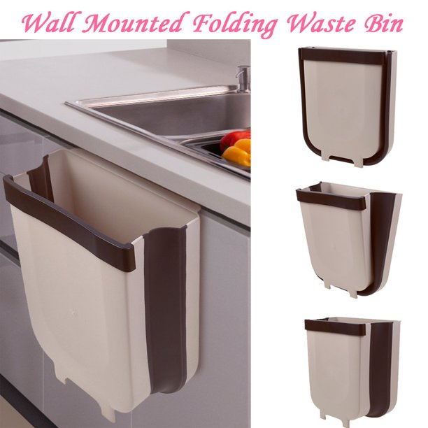Waste Bin Kitchen Cabinet Door Hanging