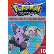 Pokemon Advanced Challenge, Vol.10: Pokeblock, Stock And Berry (Full Frame) by VENTURA MARKETING