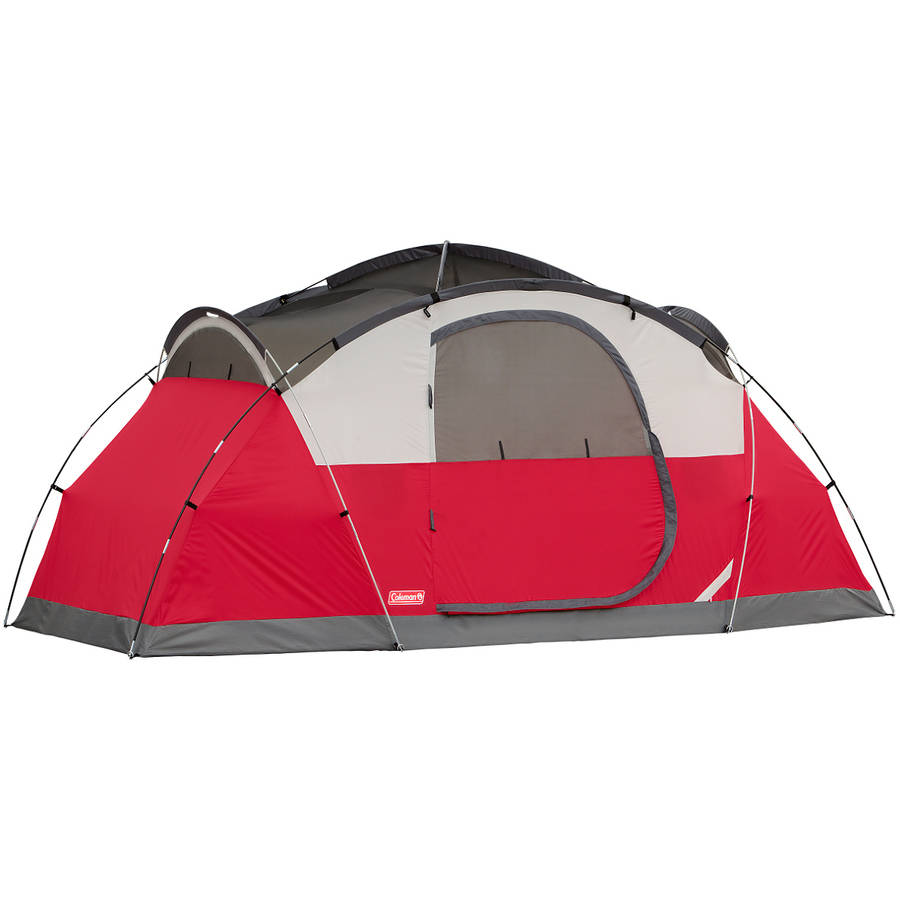 All Season Coleman Instant Dome Tent 8-Person 14u0027x8u0027 Waterproof C&ing Shelter  sc 1 st  eBay & All Season Coleman Instant Dome Tent 8-Person 14u0027x8u0027 Waterproof ...
