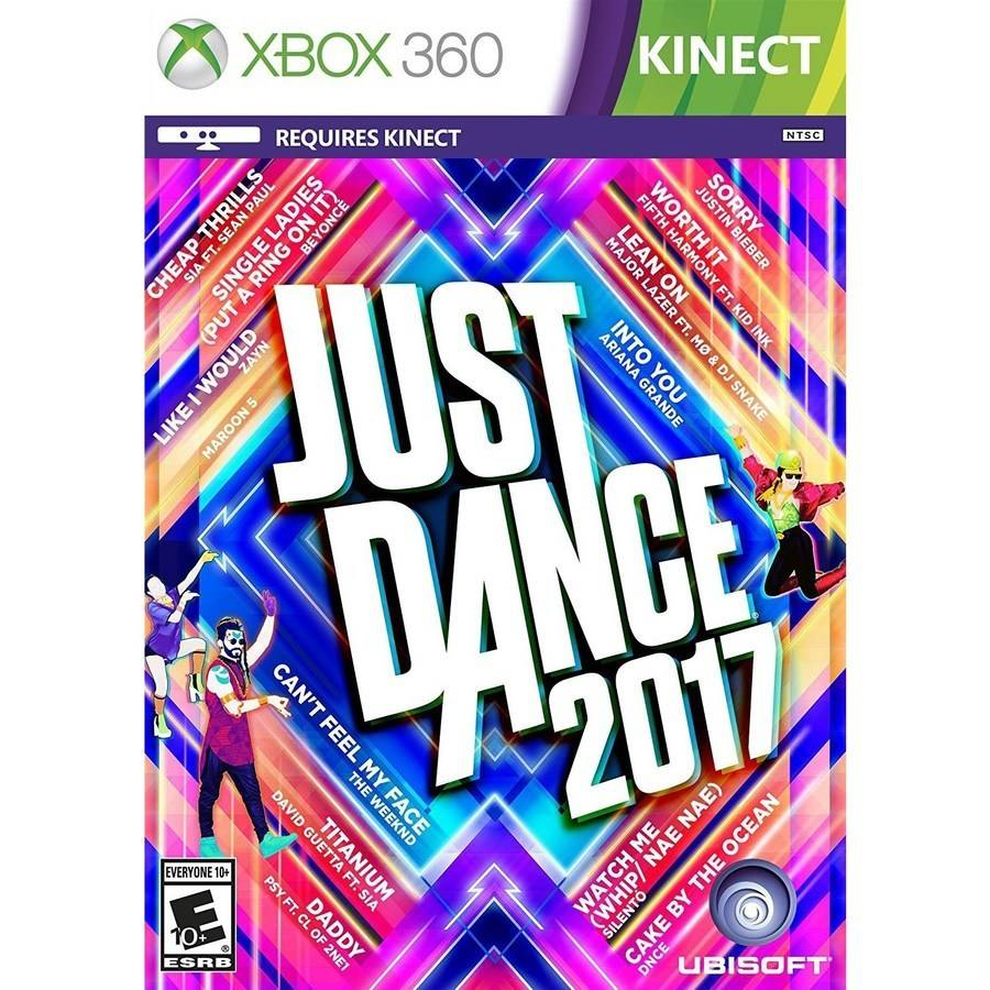 Just Dance 2017 (Xbox 360)