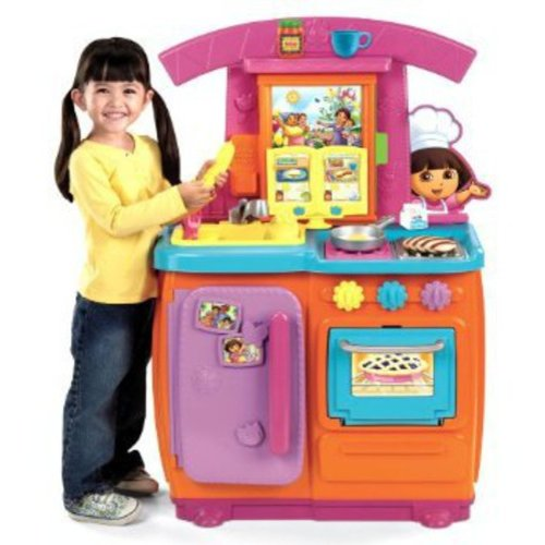 Fisher Price Dora Fiesta Favorites Kitchen