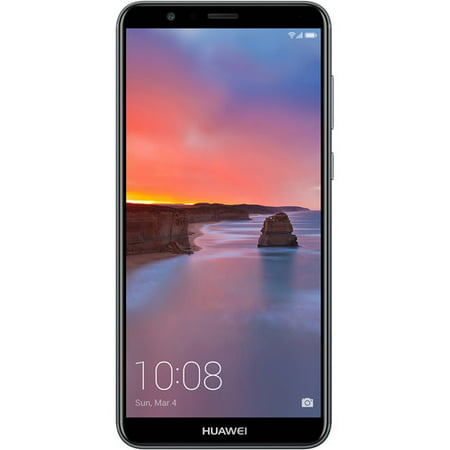 "Huawei Mate SE - Smartphone - 4G LTE - 64 GB - microSDXC slot - GSM - 5.93"" - RAM 4 GB - 16 MP (8 MP front camera) - Android - gray"