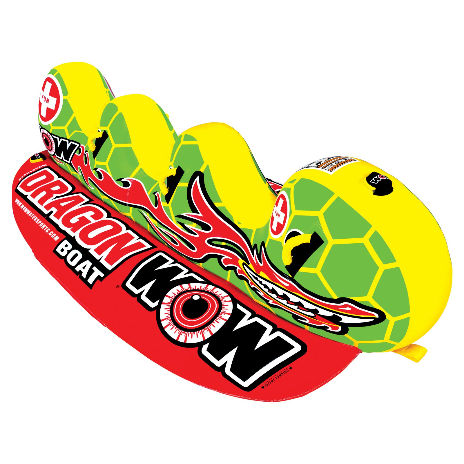 WOW Dragon Boat 3-Rider Towable by World of Watersports