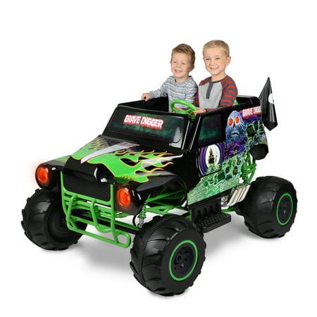 Monster Jam Grave Digger 24 Volt Battery Powered Ride On