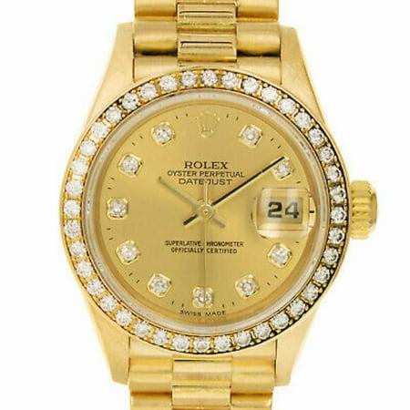 Pre-Owned Rolex Datejust 79138 Gold Women Watch (Certified Authentic & Warranty)