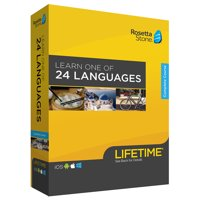 Rosetta Stone: Learn a Language with Lifetime Access on iOS, Android, PC, and Mac [Physical Box]