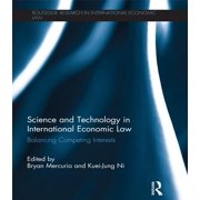 Science and Technology in International Economic Law - eBook