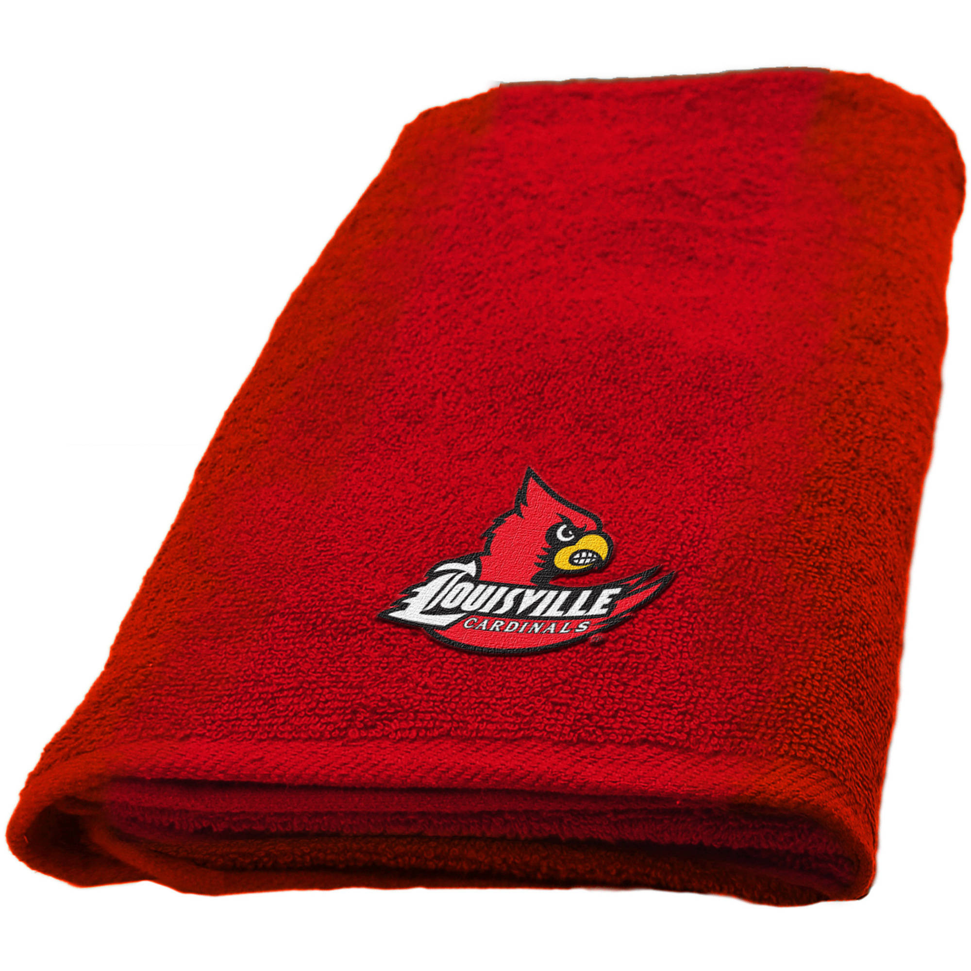 "NCAA Louisville Cardinals 15""x26"" Applique Hand Towel"
