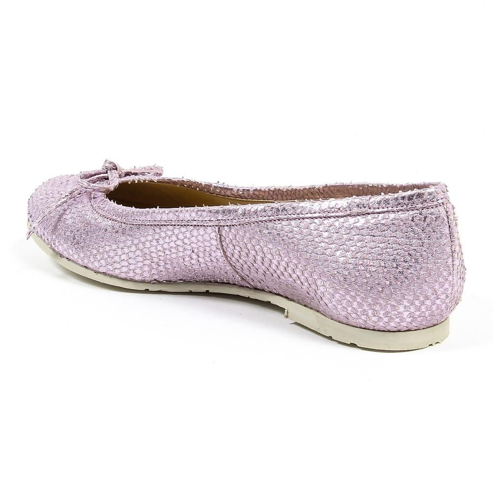Lilac 39 IT - 9 US V 1969 Italia Womens Ballerina