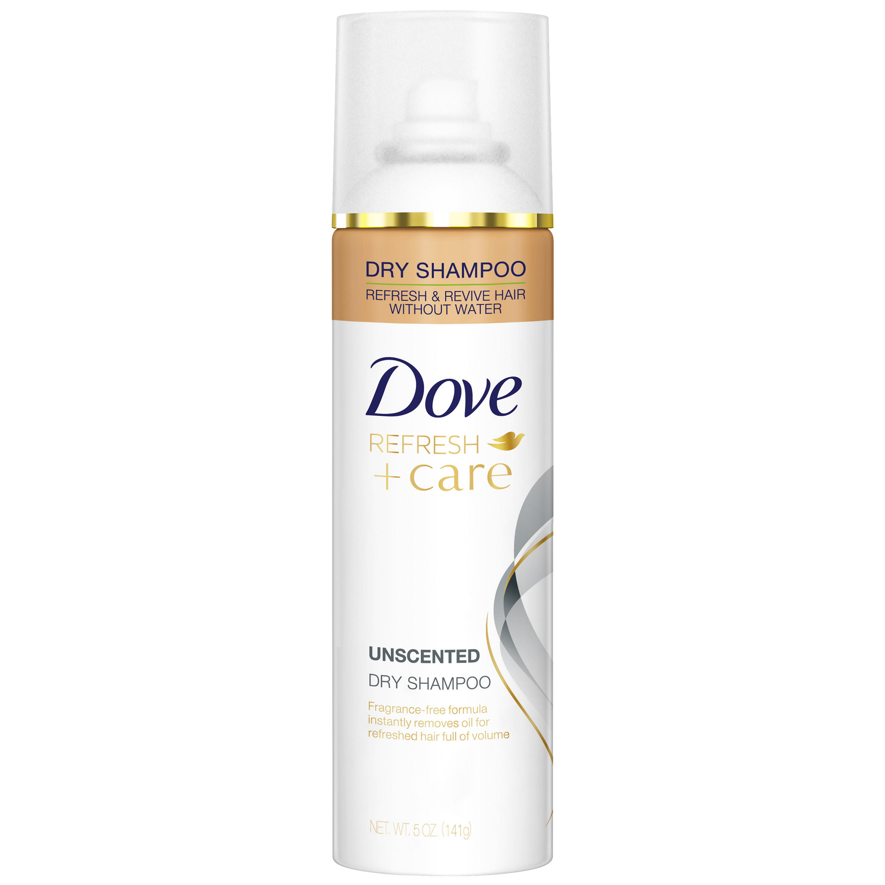 Dove Refresh + Care Unscented Dry Shampoo, 5 oz
