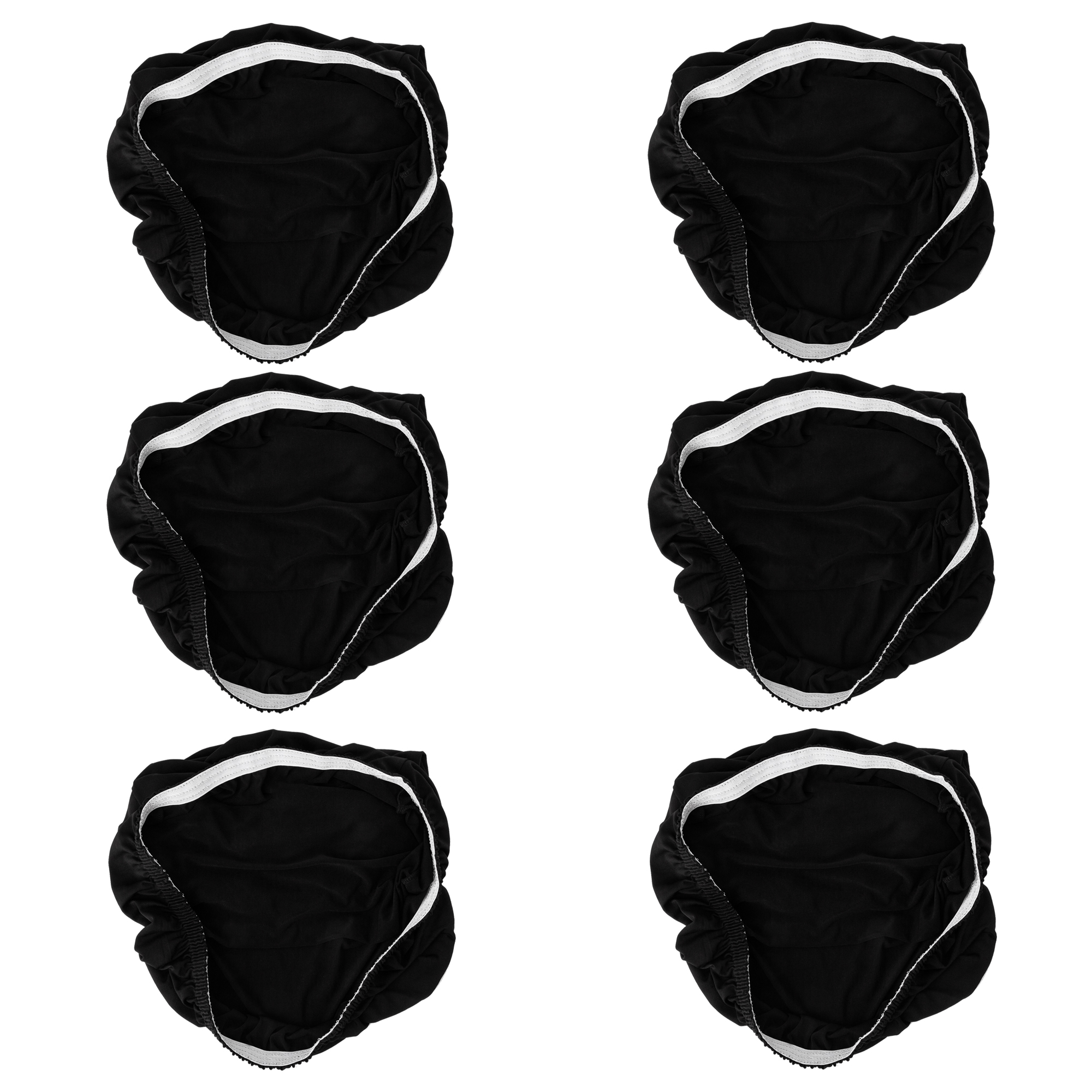 TKOOFN 6Pcs Spandex Stretch Chair Cover Washable Dining Chair Protector Slipcover