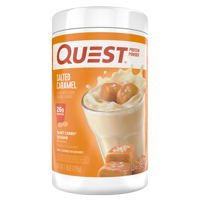 Quest Protein Powder, Salted Caramel, 26g Protein, 1.6 lb, 25.6 oz