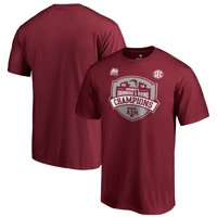 Texas A&M Aggies Fanatics Branded 2019 SEC Women's Swimming & Diving Conference Champions T-Shirt - Maroon