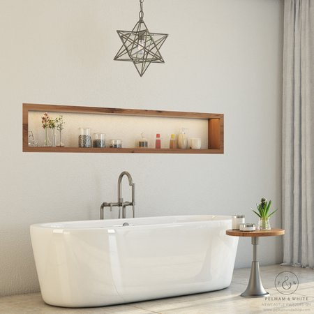 pelham & white luxury 67 inch free standing bathtub with modern tub