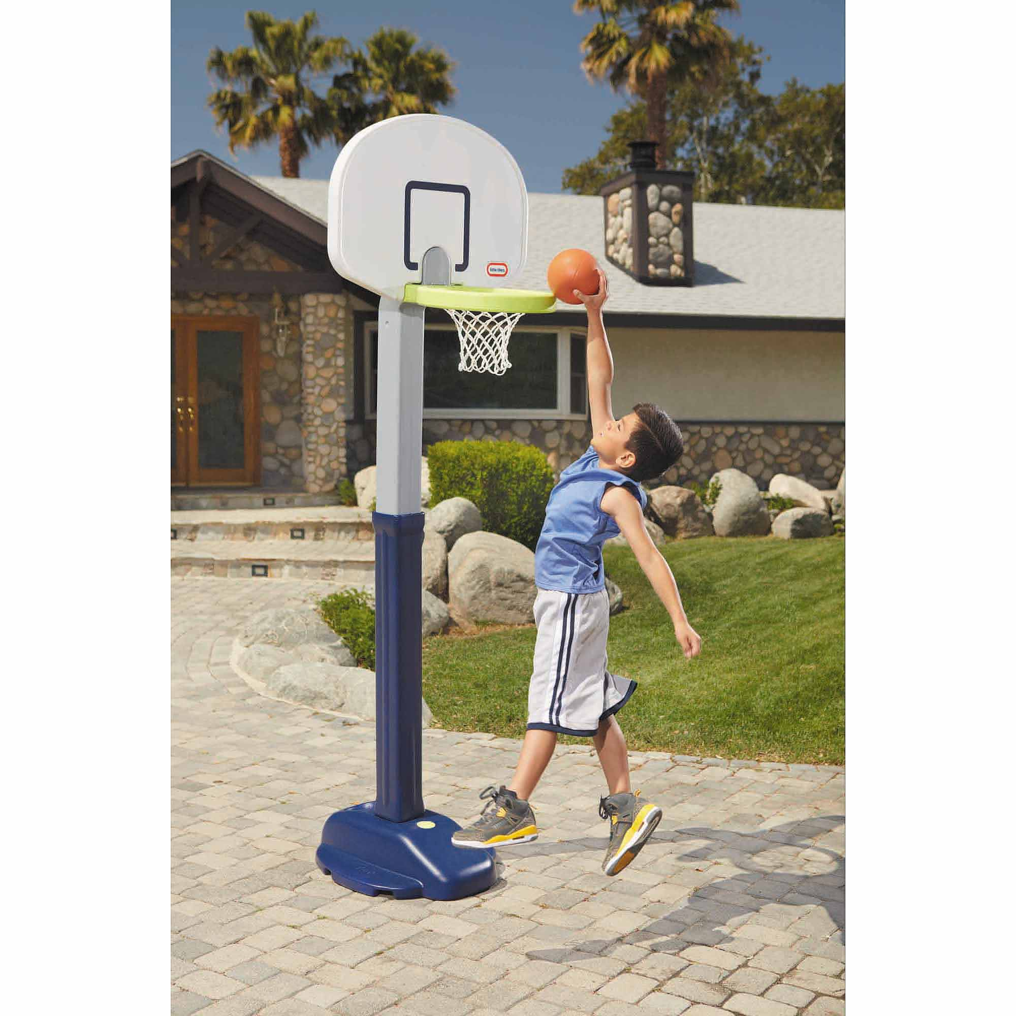 Little Tikes Adjust 'n Jam Pro Basketball Set