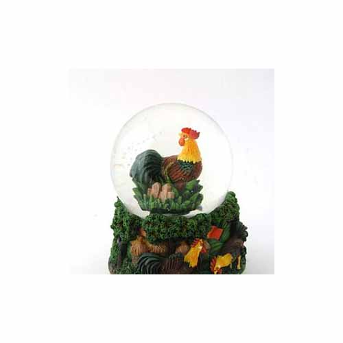 Magnet Musical Globe Rooster by Cadona CD52024A by Cadona International Inc