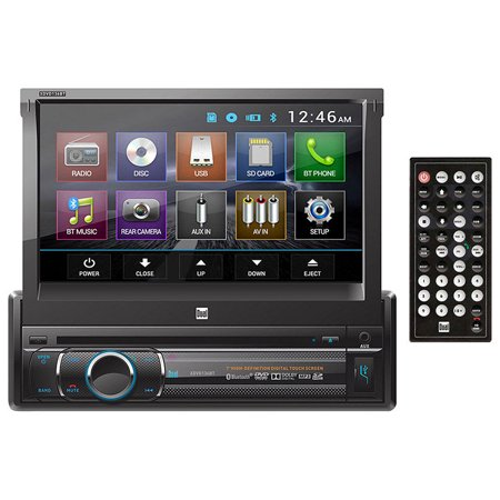 Dual In dash DVD with (Dual Under Dash)