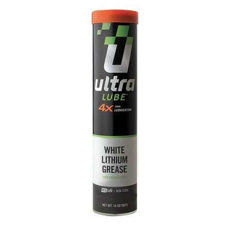 White Lithium Grease  Cartridge  14 Oz