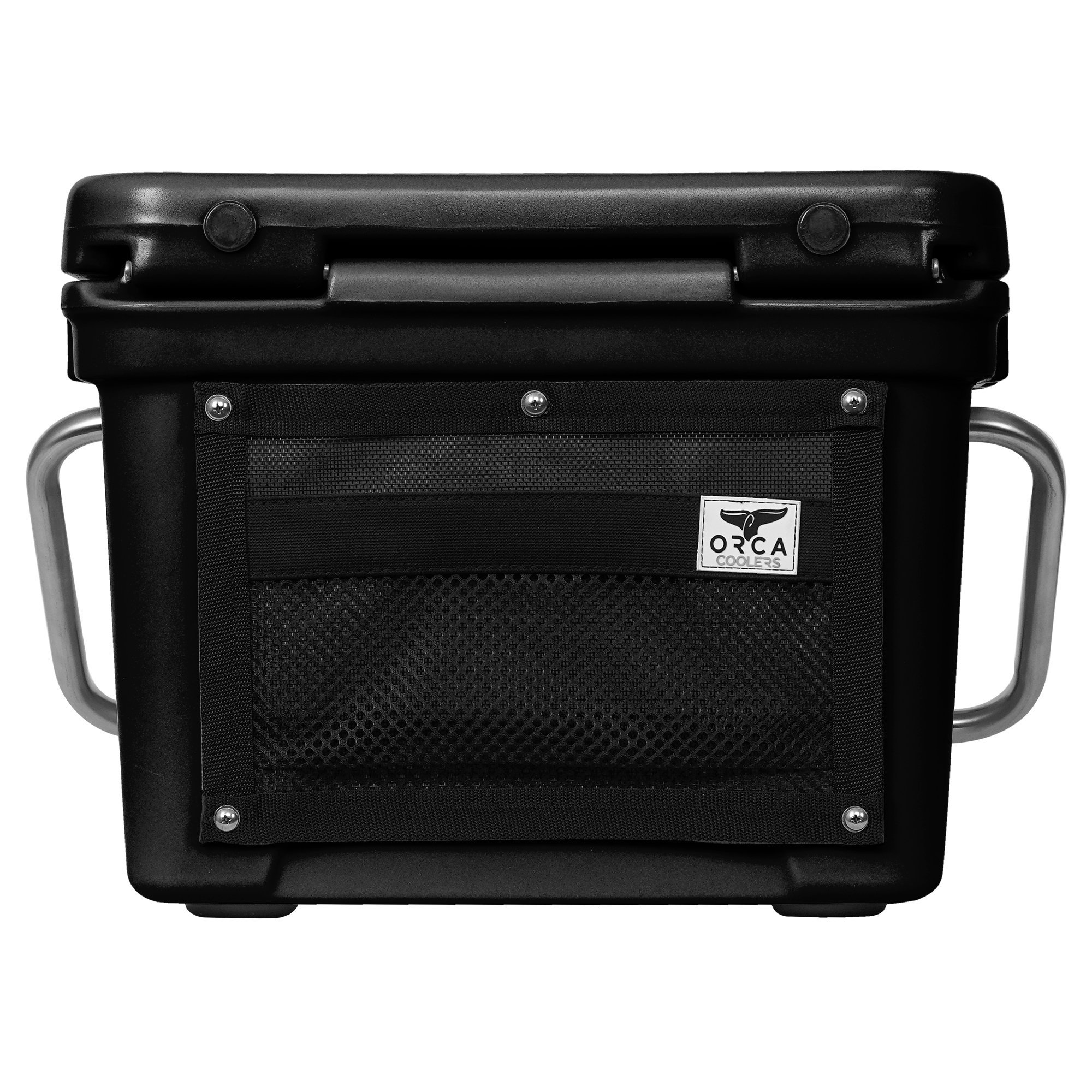 Orca 20 Quart 18 Can High Performance Roto Molded Insulated Ice Cooler, Black