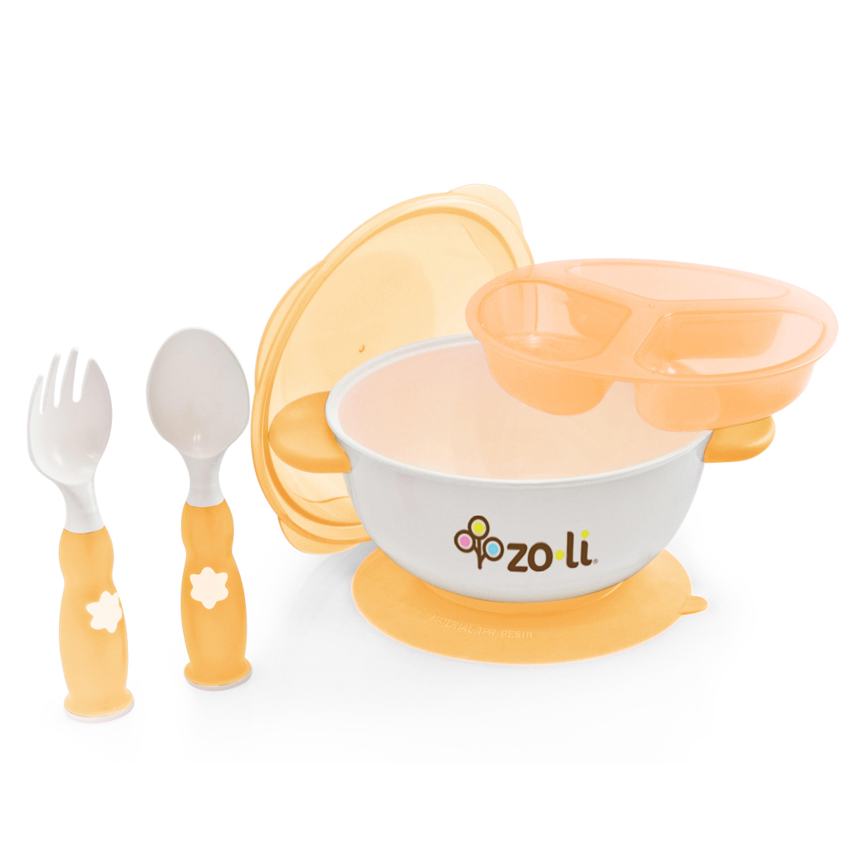 ZoLi STUCK Suction Feeding Bowl Kit, Green