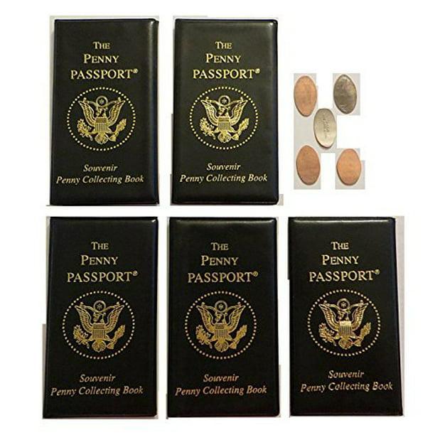 Movie Stars Elongated Pressed Penny Souvenir Album Book ..