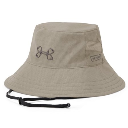 Under Armour UA CoolSwitch ArmourVent Fish Bucket Hat (City Khaki) 1307299-299