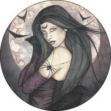 Jessica Galbreth All Hallows Eve Button B-2704