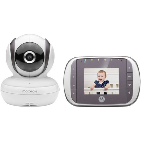 motorola mbp35s 2 4 ghz wireless digital video baby monitor with wifi connect. Black Bedroom Furniture Sets. Home Design Ideas