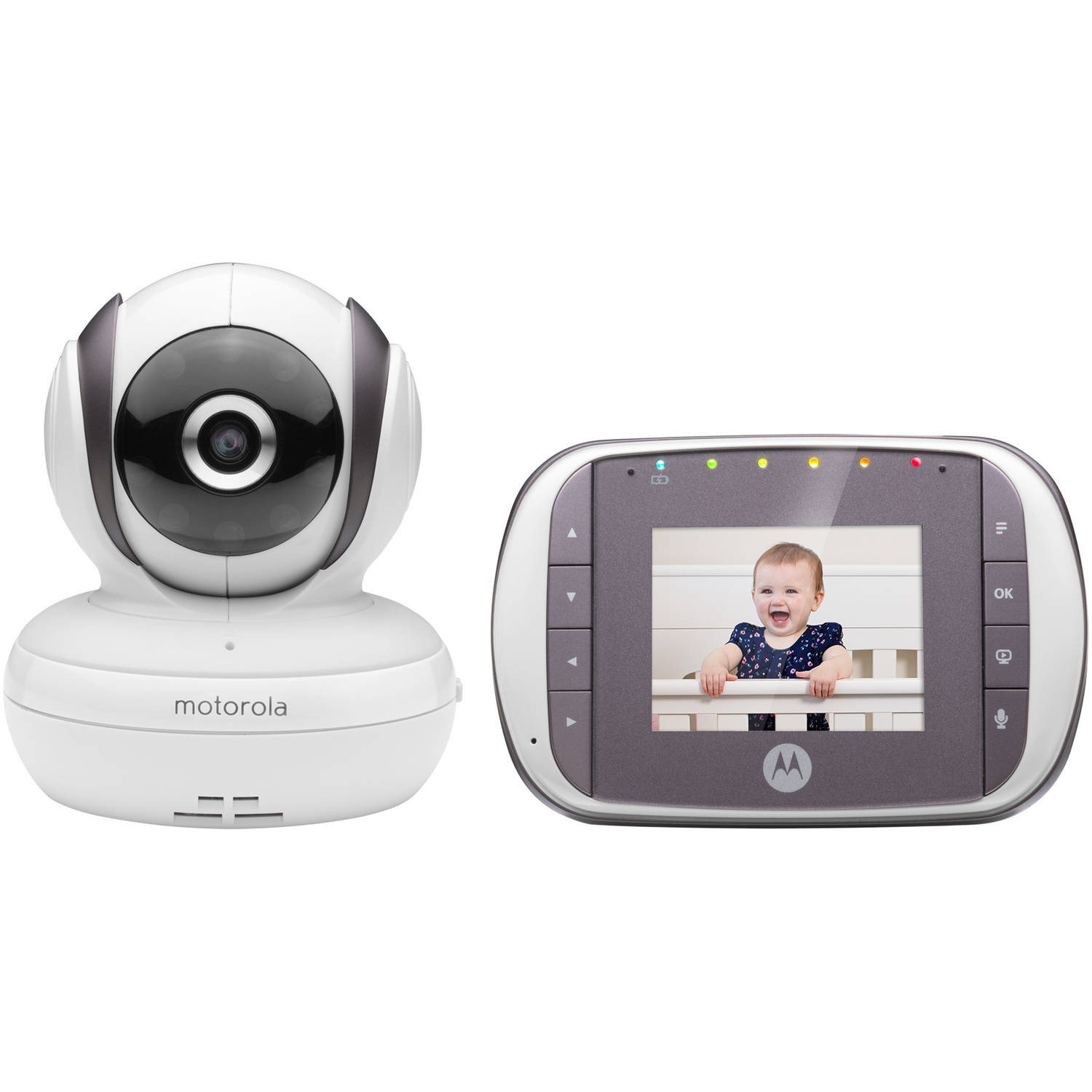 Motorola MBP35S, Video Baby Monitor, Pan/Tilt/Zoom