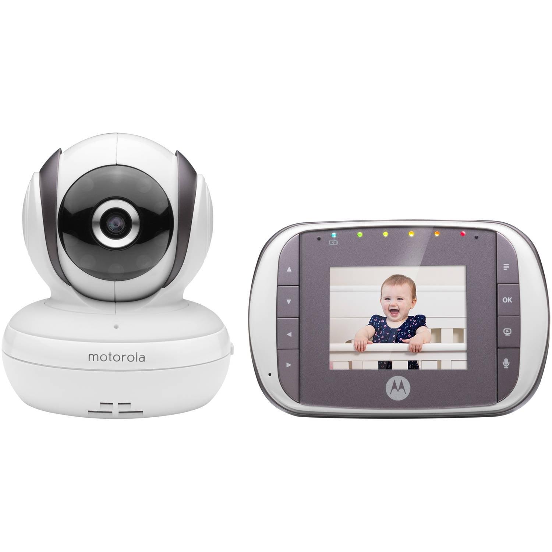 Motorola MBP35S, Video Baby Monitor, Pan/Tilt/Zoom