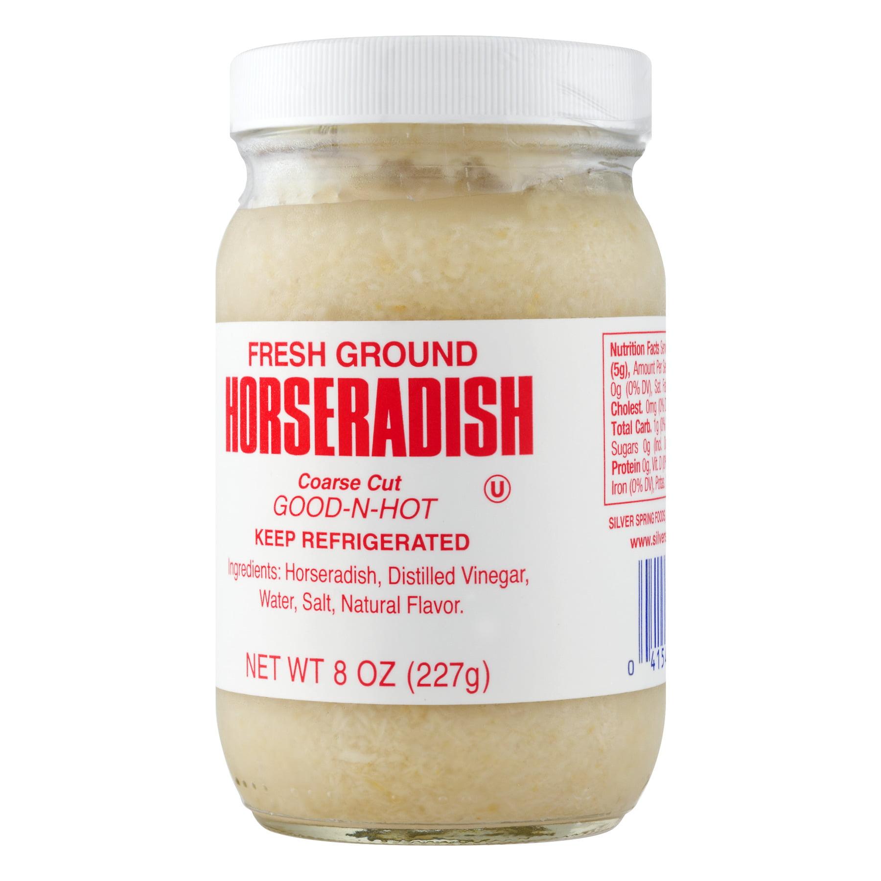 Silver Spring Fresh Ground Prepared Horseradish Walmart Com Walmart Com