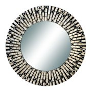 Wd Capiz Mirror 31-Inch D