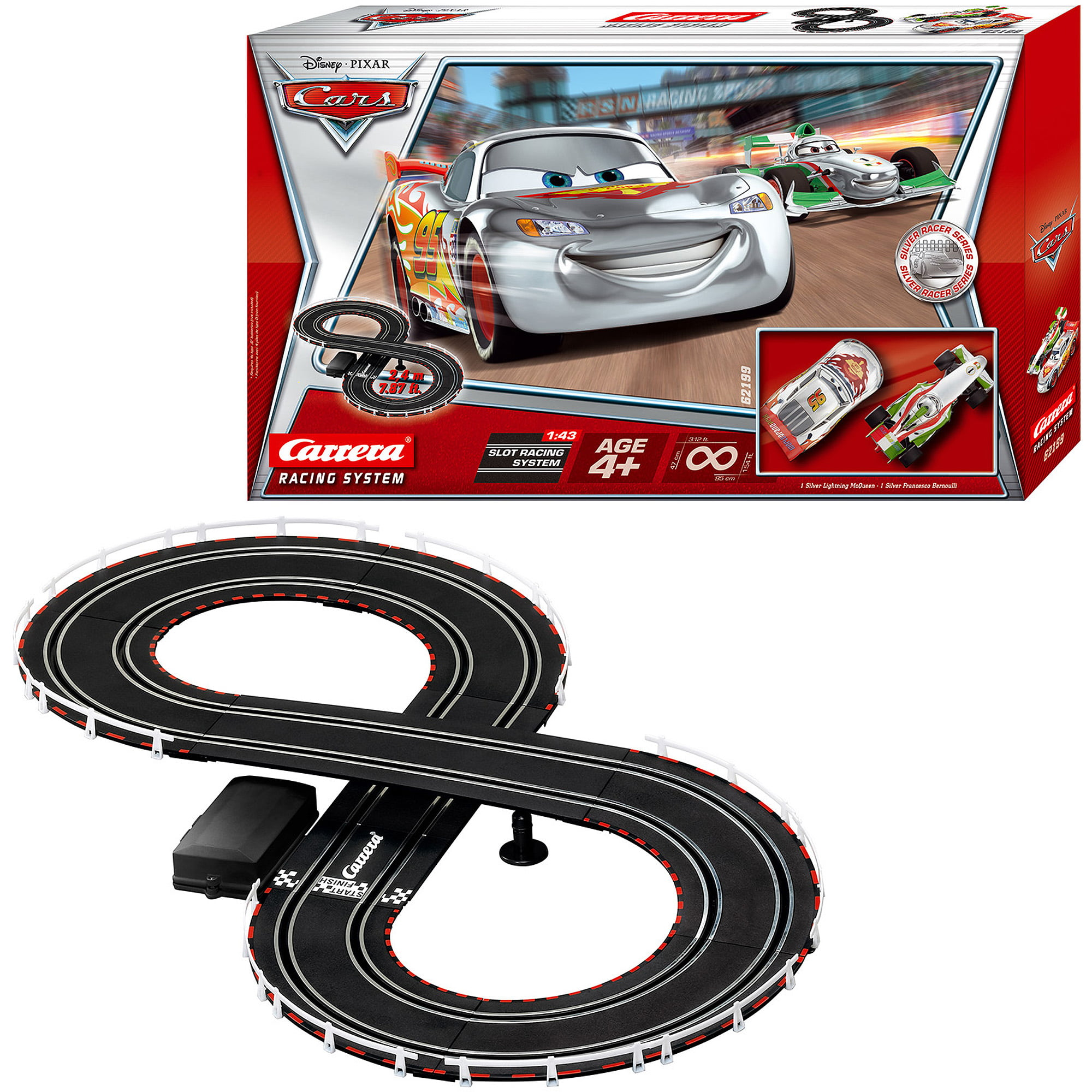 carrera disney cars racing system walmartcom