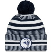 Los Angeles Rams New Era 2019 NFL Sideline Home Official Sport Knit Hat - Navy/White - OSFA