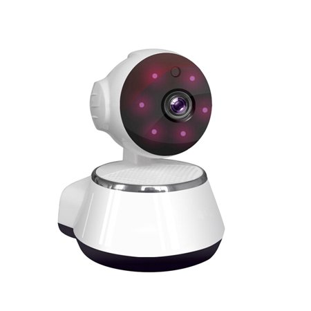 720P HD Wireless Wifi IP Camera Webcam Baby Pet Monitor CAM Pan Remote Home Security Network Night Vision Wifi Webcam with US Plug Home Network Monitoring