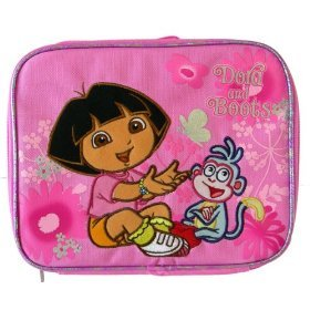 Lunch Bag - Dora the Explorer - Boots Butterfly New Case Girls Gifts 37681