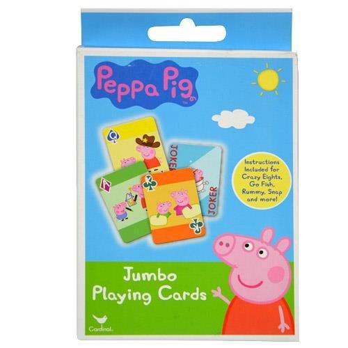 Party Favors Peppa Pig 1pk Jumbo Card GameÉ
