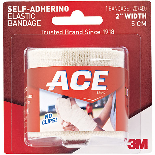 ACE Self-Adhering Elastic Bandage 207460, 2 in, 207460