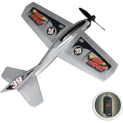 Air Hogs Charge & Launch Wind Flyers, Silver