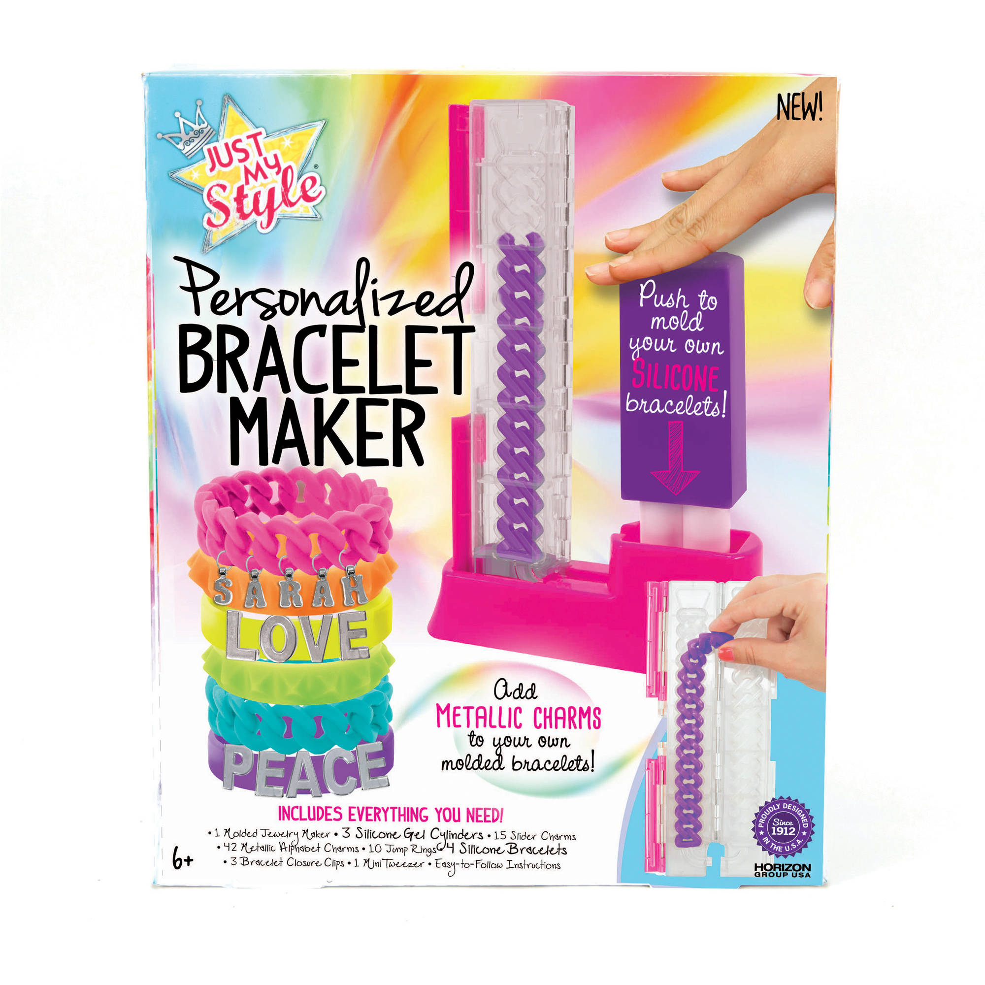 *Discontinued* Just My Style Personalized Bracelet Maker by Horizon Group USA